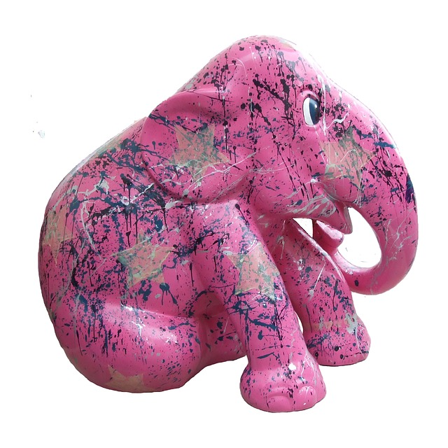 Pink Elephant Sticker Pack messages sticker-8