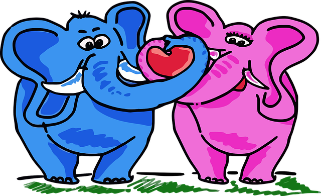 Pink Elephant Sticker Pack messages sticker-2