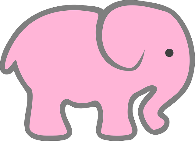 Pink Elephant Sticker Pack messages sticker-3
