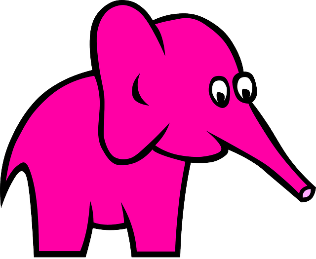 Pink Elephant Sticker Pack messages sticker-0