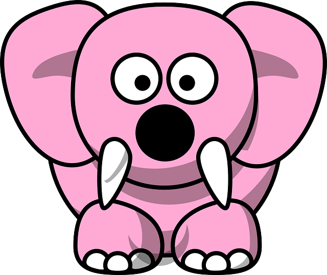 Pink Elephant Sticker Pack messages sticker-6
