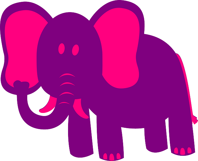 Pink Elephant Sticker Pack messages sticker-7