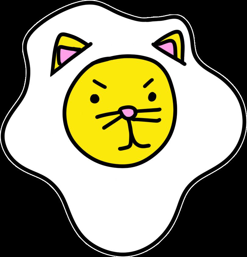 Cat Egg Sticker Pack messages sticker-1