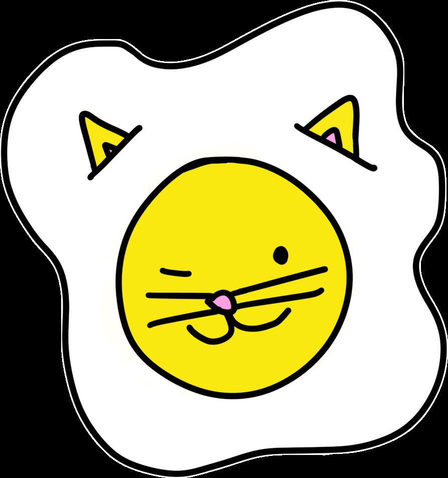Cat Egg Sticker Pack messages sticker-5