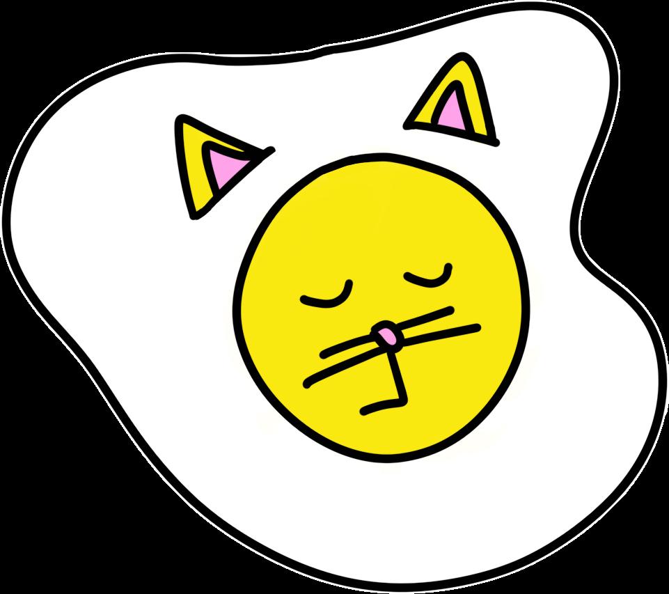 Cat Egg Sticker Pack messages sticker-4