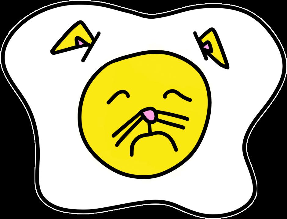 Cat Egg Sticker Pack messages sticker-3