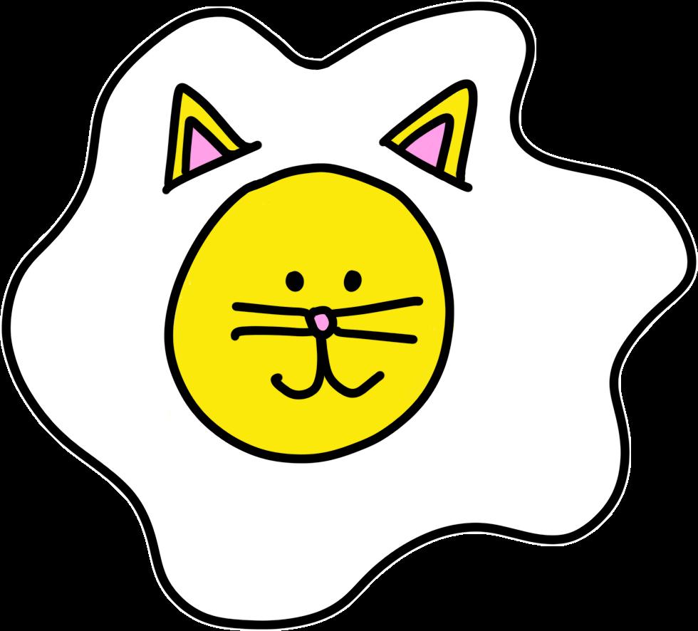 Cat Egg Sticker Pack messages sticker-2