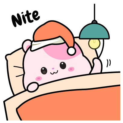 Kiki Hamster Stickers messages sticker-5