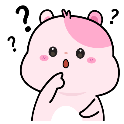 Kiki Hamster Stickers messages sticker-0