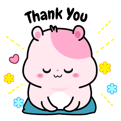 Kiki Hamster Stickers messages sticker-3