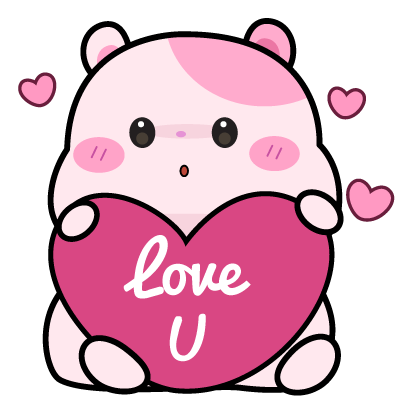 Kiki Hamster Stickers messages sticker-8