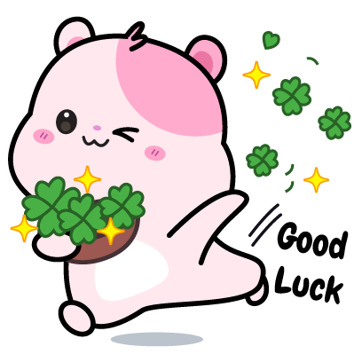 Kiki Hamster Stickers messages sticker-10