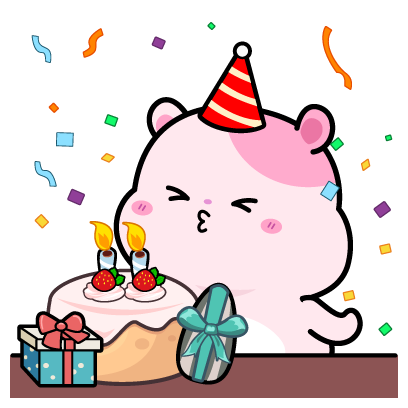 Kiki Hamster Stickers messages sticker-9