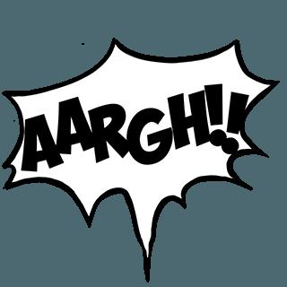Comic Slangs messages sticker-4