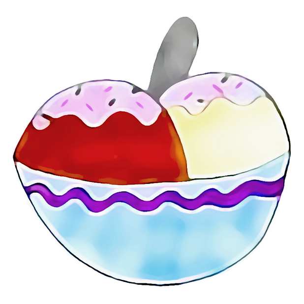 Kawaii! Ice Cream & Cake messages sticker-11
