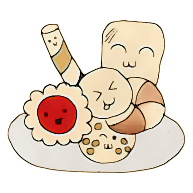 Kawaii! Donuts & Pastries messages sticker-2