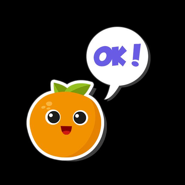 Fruit Escape: Draw Line messages sticker-1