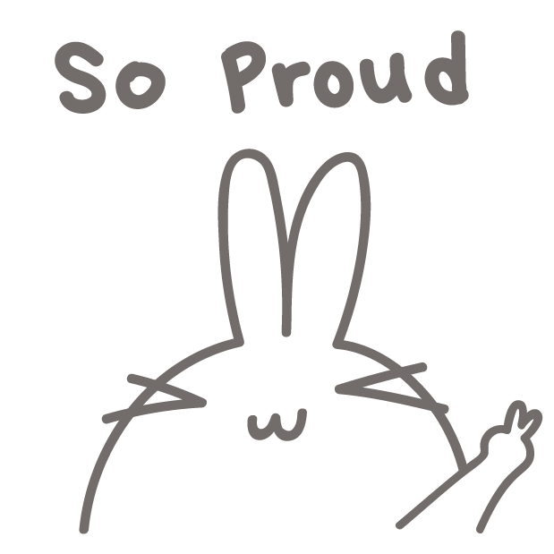 BunnyBunny-talking bunny messages sticker-6