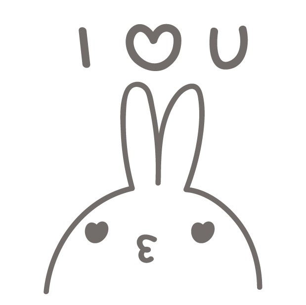 BunnyBunny-talking bunny messages sticker-7