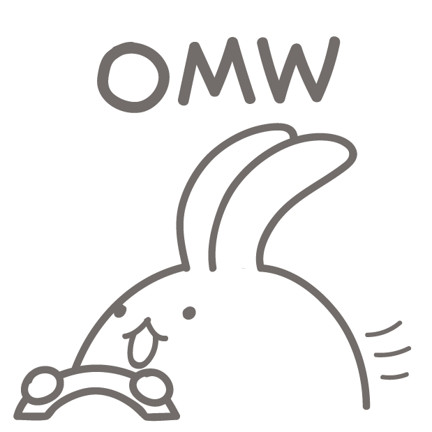 BunnyBunny-talking bunny messages sticker-3