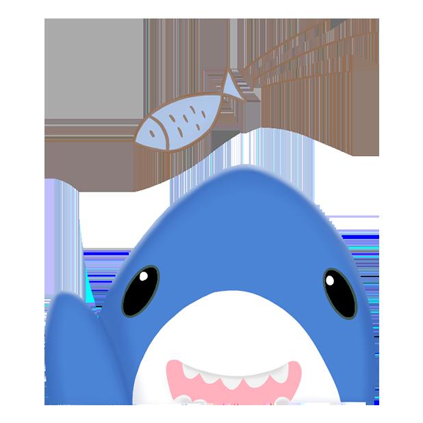 Shark Friends messages sticker-11