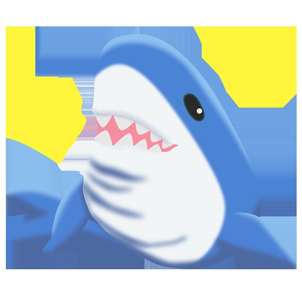 Shark Friends messages sticker-2