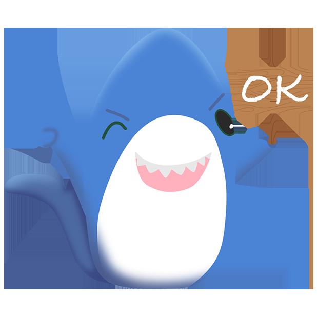 Shark Friends messages sticker-0