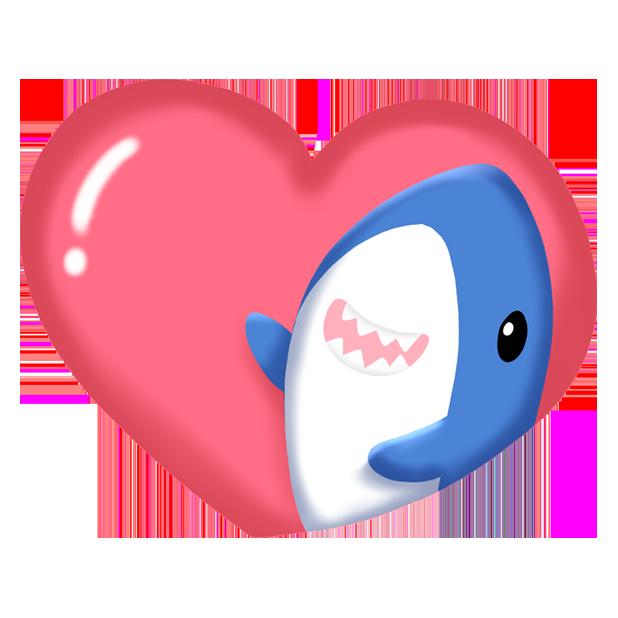 Shark Friends messages sticker-10
