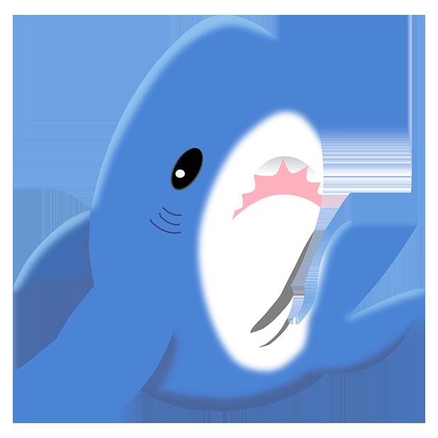 Shark Friends messages sticker-4