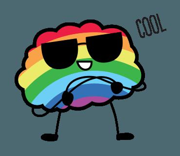 Proud LGBT messages sticker-5
