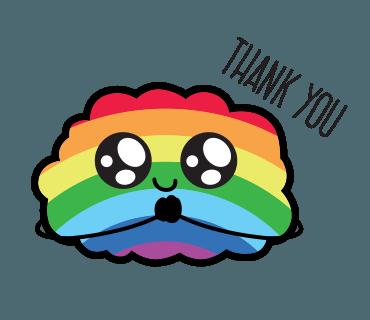 Proud LGBT messages sticker-6
