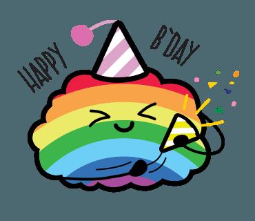 Proud LGBT messages sticker-10