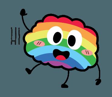 Proud LGBT messages sticker-0