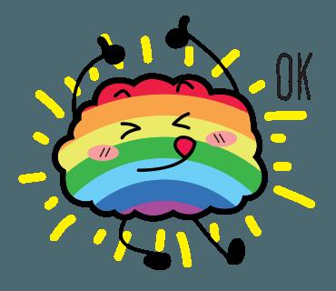 Proud LGBT messages sticker-4