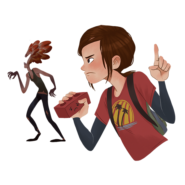The Last of Us Stickers messages sticker-8