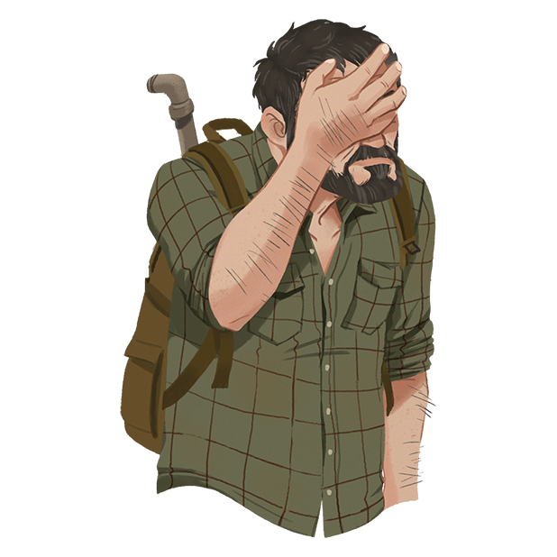 The Last of Us Stickers messages sticker-4