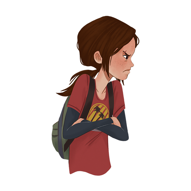 The Last of Us Stickers messages sticker-10