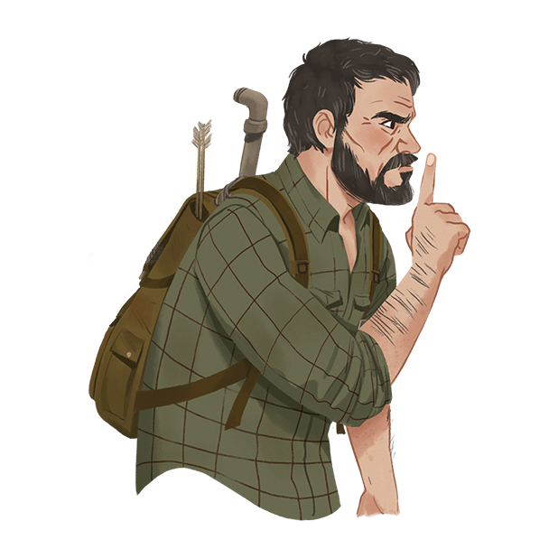 The Last of Us Stickers messages sticker-6