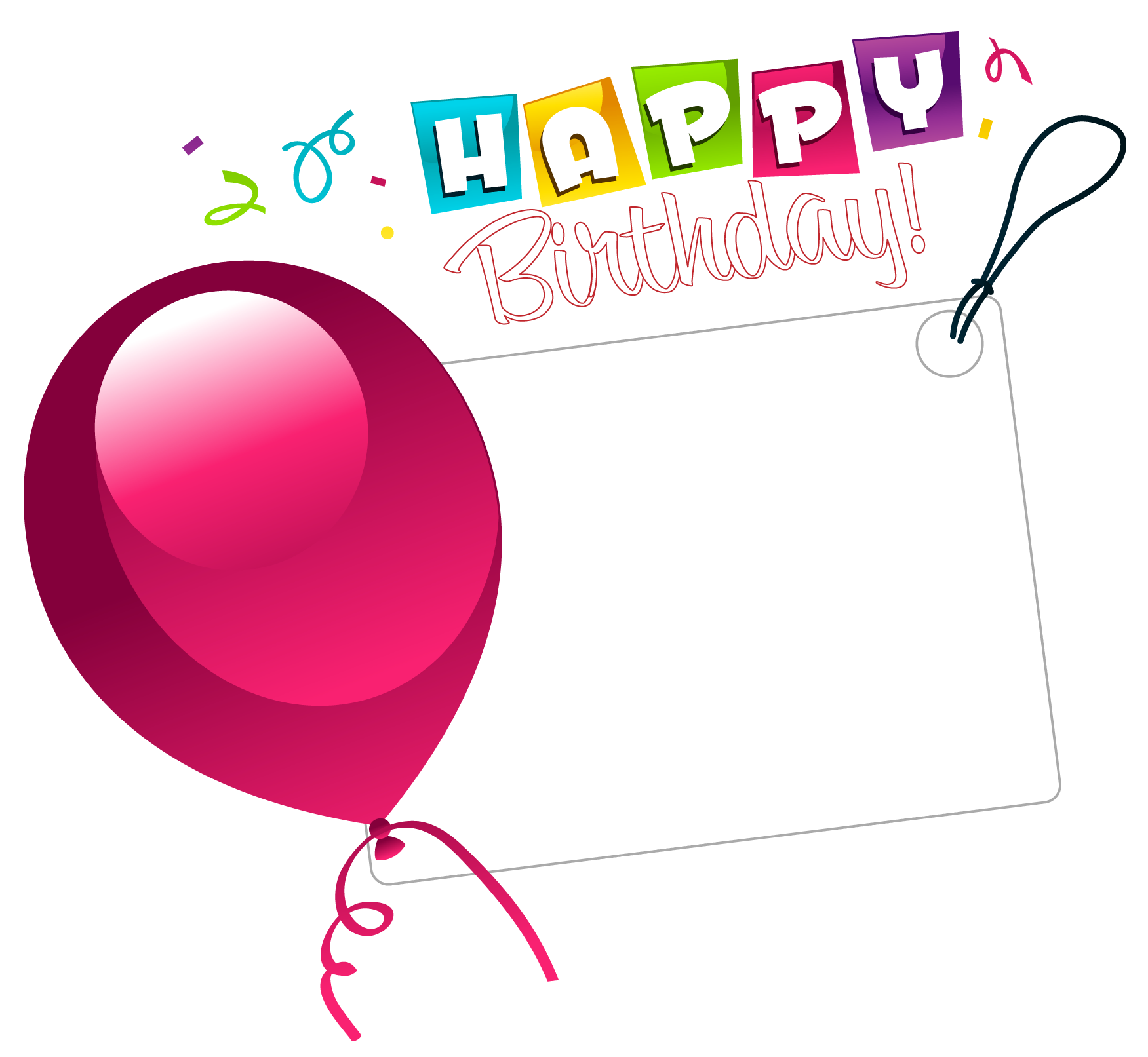 Birthday Stickers - Message messages sticker-2