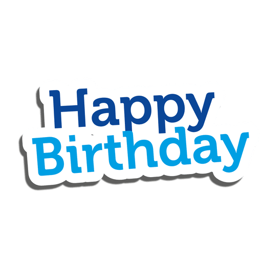 Birthday Stickers - Message messages sticker-3