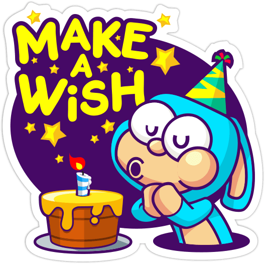 Birthday Stickers - Message messages sticker-4
