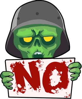 Zombie Online: Follower Z messages sticker-3
