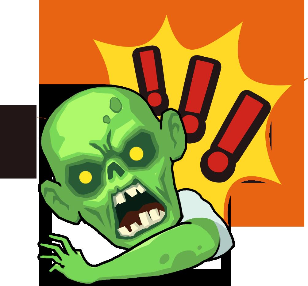 Zombie Online: Follower Z messages sticker-1