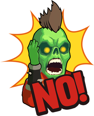Zombie Online: Follower Z messages sticker-4