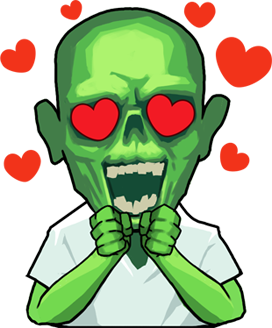 Zombie Online: Follower Z messages sticker-5