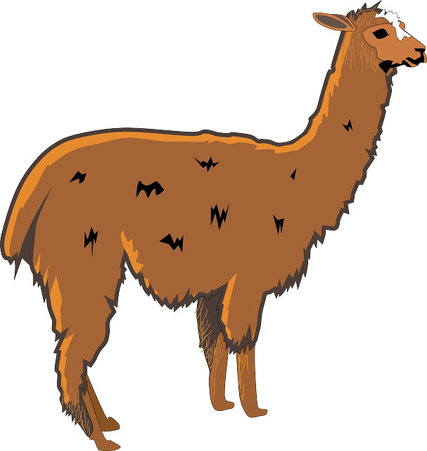 Lllama Stickers messages sticker-2
