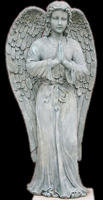 Angel Statue Stickers messages sticker-0