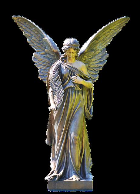 Angel Statue Stickers messages sticker-6