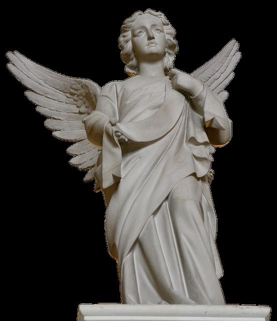 Angel Statue Stickers messages sticker-4