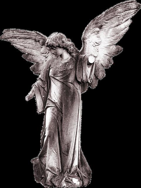 Angel Statue Stickers messages sticker-5